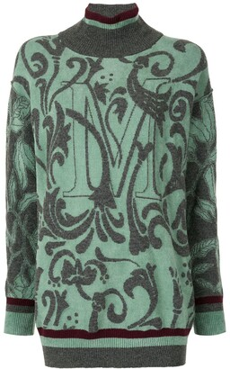 Antonio Marras Intarsia-Knit Jumper