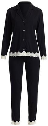 Eberjey Lady Godiva 2-Piece Pajama Set