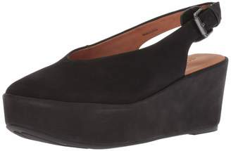 Gentle Souls Women's Nyomi Platform Wedge with Backstrap