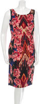 Oscar de la Renta Sleeveless Sheath Dress w/ Tags