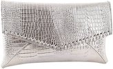 The Sassy Mantra Latest Luxury Designer PU Alligator Pattern Clutch Shoulder Handbag for Casual and Party Wear
