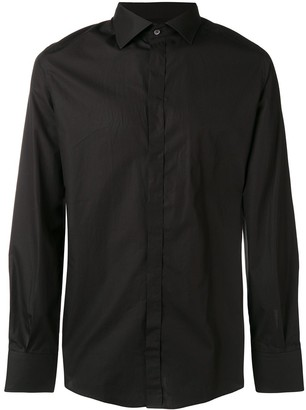 Dolce & Gabbana Long-Sleeve Fitted Shirt