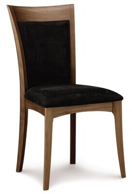 Thumbnail for your product : Copeland Furniture Morgan Side Chair in Sisal Fabric Finish: Saddle Cherry