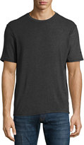 Revo Short-Sleeve Crewneck Jersey Tee, Black Raven/Stealth Gray