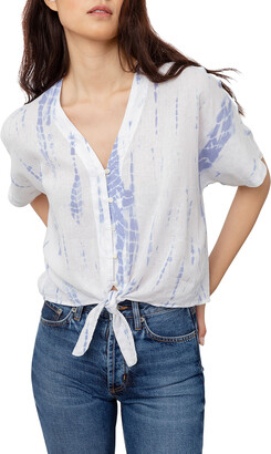 Rails Thea Tie-Dye Crop Shirt