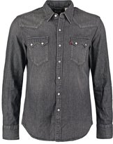Levi's® Sawtooth Shirt Laundered Dark Grey White Weft