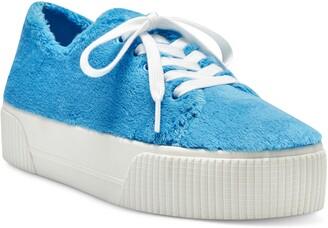 Jessica Simpson Edda Faux Shearling Platform Sneaker