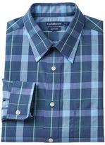 Croft & Barrow Men's Slim-Fit Easy-Care Point-Collar Dress Shirt
