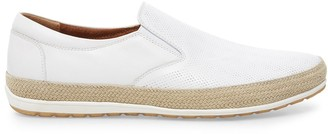 Steve Madden Como White Leather