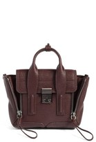 3.1 Phillip Lim 'Mini Pashli' Leather Satchel - Red