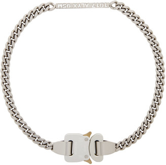 Alyx Silver Buckle Necklace