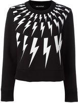 Neil Barrett 'Lightning Bolt' sweatshirt