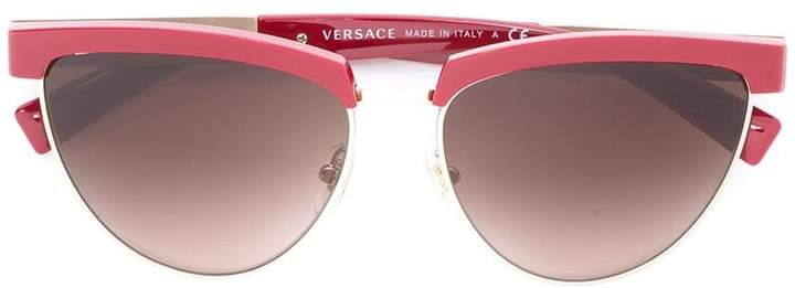 Versace cut-out frame sunglasses