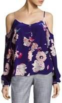 Yumi Kim Renaissance Poppy Cold-Shoulder Top