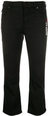 Love Moschino Cropped Skinny Fit Jeans