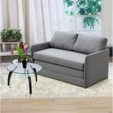 """Thumbnail for your product : Winston Porter Dendron 51"""" Square Arm Sleeper"""