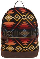 Pendleton Printed Genuine Leather Backpack