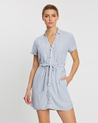 Abercrombie & Fitch Short Sleeve Shirt Dress