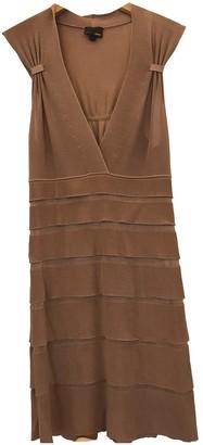 Fendi Beige Synthetic Dresses