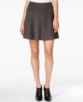 Kensie Herringbone A-Line Skirt