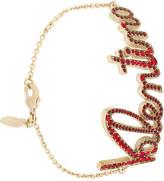 Valentino embellished bracelet