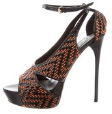 Burberry Greenwich 130 Platform Sandals