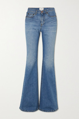 Victoria Victoria Beckham High-rise Flared Jeans - Mid denim