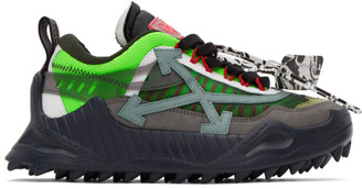 Off-White Green ODSY-1000 Sneakers