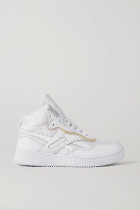 Reebok x Victoria Beckham Dual Court Mesh And Textured-leather Sneakers - White