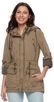 Levi's Women's Hooded Roll-Tab Anorak Jacket
