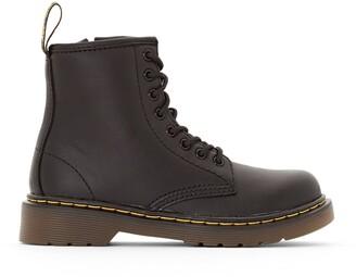 Dr. Martens Kids Delaney Junior Leather Ankle Boots