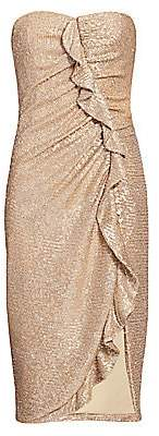 Jonathan Simkhai Women's Strapless Sequin Midi Dress