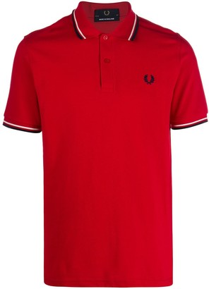 Fred Perry short-sleeved Piquet polo shirt