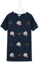Little Marc Jacobs sequin embellished T-shirt dress - kids - Cotton/Polyamide/Spandex/Elastane/Modal - 3 yrs