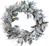 OKA Faux Lamb's Ear Wreath, Large