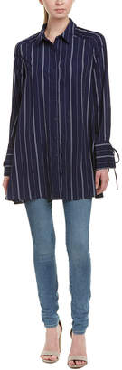 re:named apparel Re:Named Striped Shirtdress