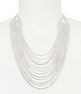 Cezanne Rhinestone Multi-Strand Statement Necklace