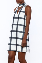 Do & Be Checkered Mini Dress