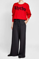 Zadig & Voltaire Printed Wool Pullover