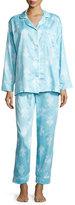 BedHead Chandelier-Print Pajama Set, Blue