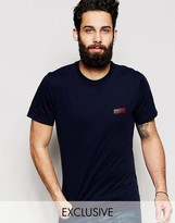 Barbour T-shirt With International Logo Print Exclusive