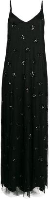 P.A.R.O.S.H. Sequin-Embellished Slip Dress