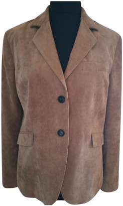 Stella Forest Camel Polyester Jackets