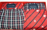 Tommy Hilfiger 2 Pack Woven Boxer Brief Underwear (Large ( 36-38 ), )