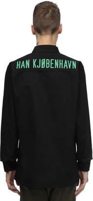 Han Kjobenhavn BOXY COTTON BLEND SHIRT