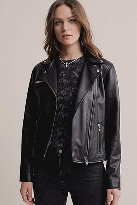Witchery Leather Biker