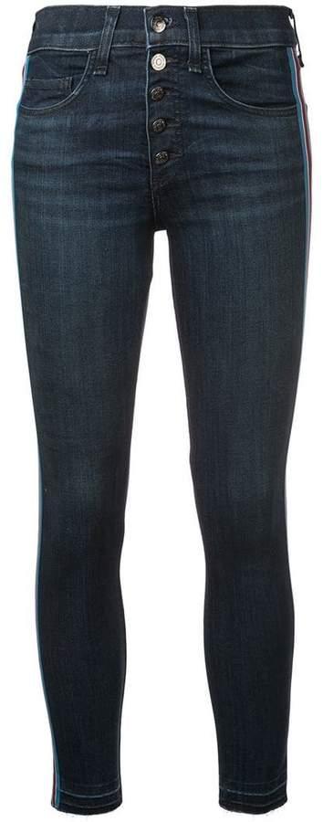 Veronica Beard Debbie 10 with Tux Stripe jeans