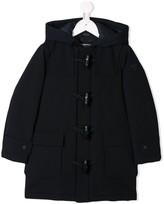 Emporio Armani Kids hooded duffle coat