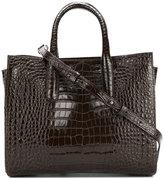 Max Mara crocodile print handle tote - women - Calf Leather - One Size