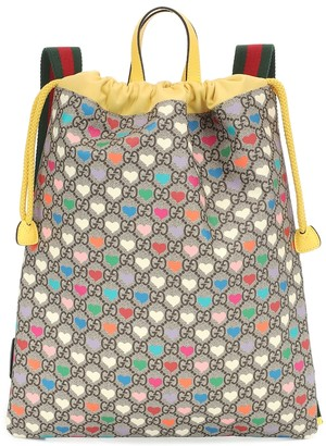 Gucci Kids GG Heart backpack